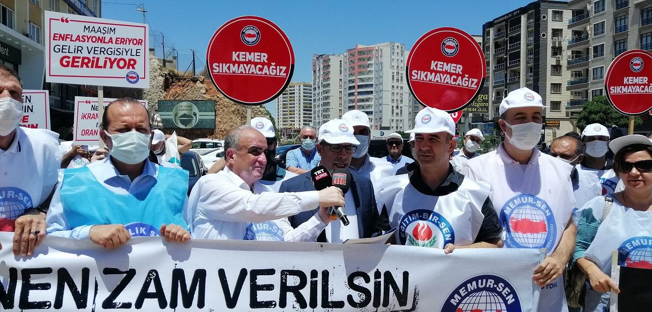 Seyyanen Zam Verilsin Hak Kaybı Giderilsin