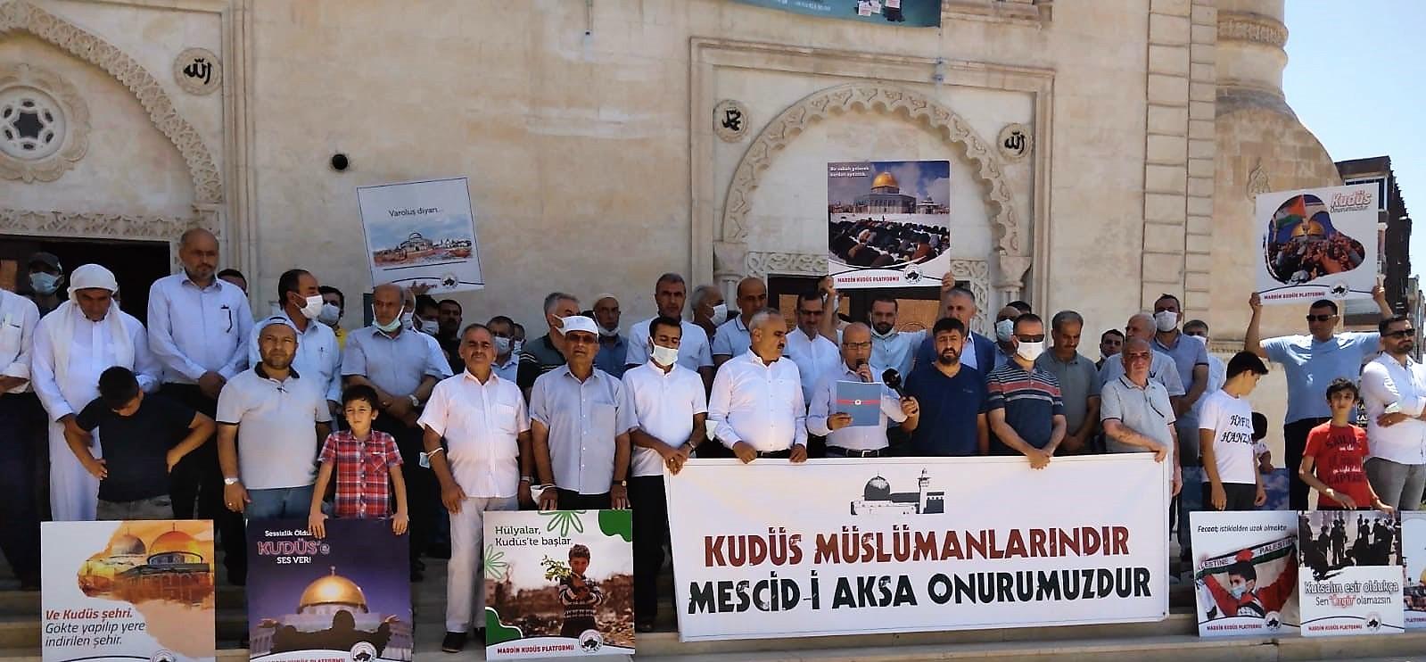 Kudüs Müslümanlarındır, Mescid-i Aksa Onurumuzdur.